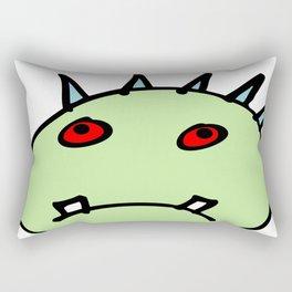haunted head Rectangular Pillow