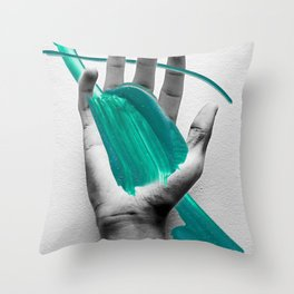 Splat! Throw Pillow