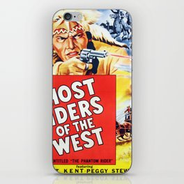 Ghost Riders of The West iPhone Skin