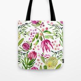 Protea Flower Bloom Tote Bag