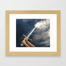 Sword of the Spirit Framed Art Print