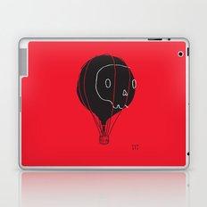 Hot Air Balloon Skull Laptop & iPad Skin