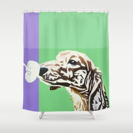 """Say Cheeze"" ~ Dachshund, Weiner Dog, Doxie, everywhere! Shower Curtain"
