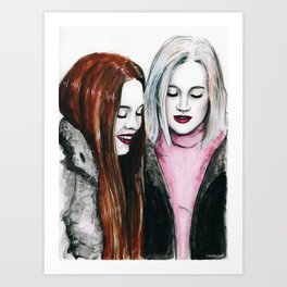 SKAM Eva & Noora Art Print