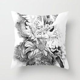 Valkyrie Throw Pillow