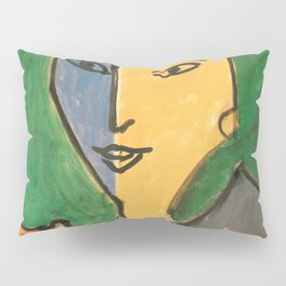 Portrait of Lydia Delectorskaya - Henri Matisse Pillow Sham