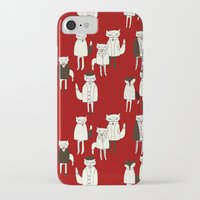 foxes iPhone & iPod Cases featuring foxes.... by mummysam