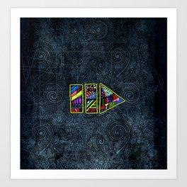 PlayPause Art Print
