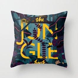The Jungle Book Throw Pillow