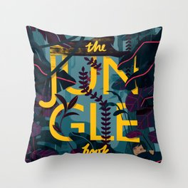 The Jungle Book Throw Pillow