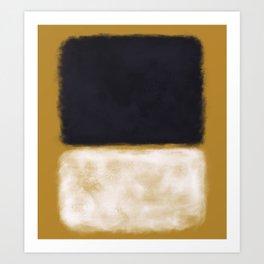 Rothko Inspired #10 Art Print