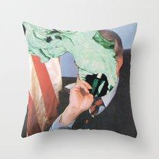 Paul O. Ticks Throw Pillow