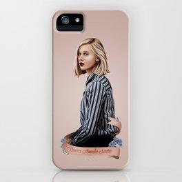 NOORA AMALIE SÆTRE iPhone Case
