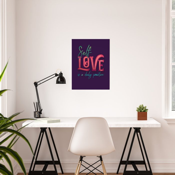 Kelly-Ann Maddox Collection :: Self-Love (Simple) Poster
