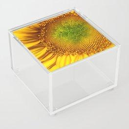Perfect Sunflower Acrylic Box