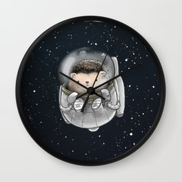 Space Hedgies Wall Clock