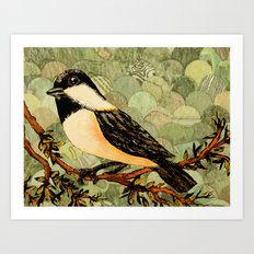 Winged Messenger Art Print
