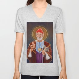 Saint Bill of Murray Unisex V-Neck