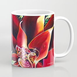 The Red Flower: Julie Northey Coffee Mug