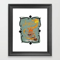 Dogflute. Framed Art Print