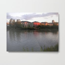 Gone Fishin', Alaskan Style Metal Print