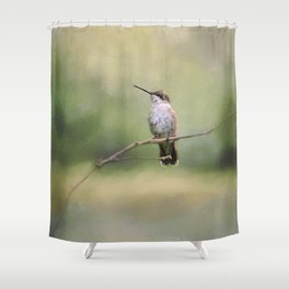 Tiny Visitor Shower Curtain