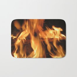 Fireplace Bath Mat
