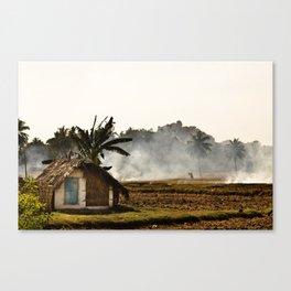 Hot hut Canvas Print