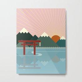 Oriental Metal Print