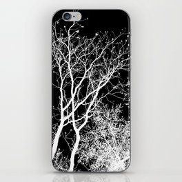 Branching Out In Light And Dark iPhone Skin