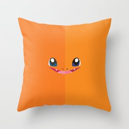 Char Char Throw Pillow