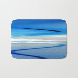 Blue Sunset Bath Mat