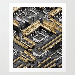 Z87-DELUXE Art Print