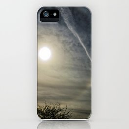 Eye in the sky halo iPhone Case
