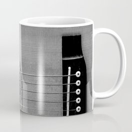 acoustic electric guitar music aesthetic close up elegant fine art photography  Coffee Mug