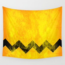 Distressed Charlie Brown Wall Tapestry