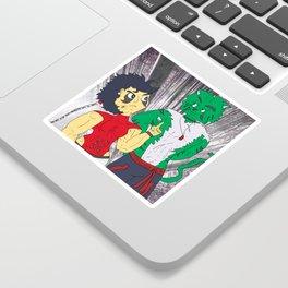 Mash challenges Hara Sticker