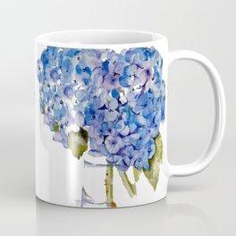 Cape Cod Hydrangea Large Canvas Coffee Mug