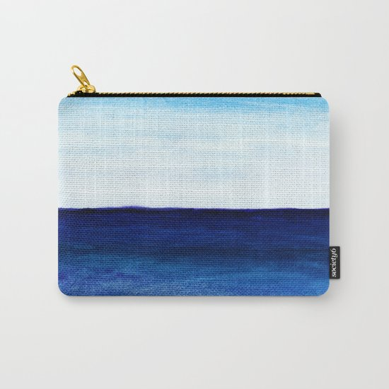 Blue & blue Carry-All Pouch