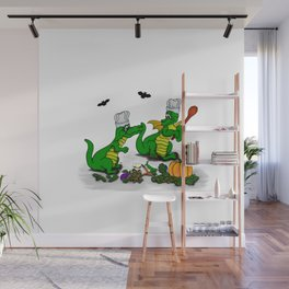 Dragons - Happy Halloween ! Today I will cook Wall Mural
