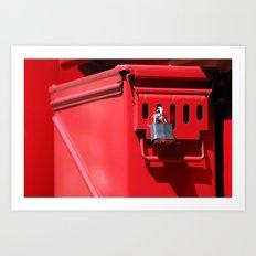 Lock and Box Art Print