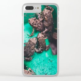 Toad Pile Clear iPhone Case