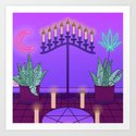 Ultraviolet Temple by deluxewitch