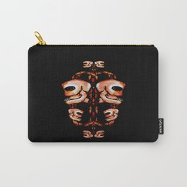 Skull Motif Ornament Carry-All Pouch