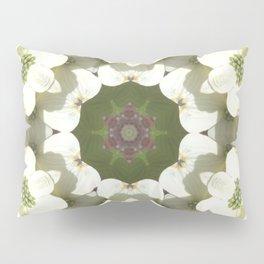 Dogwood Mandala Pillow Sham
