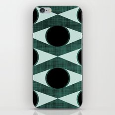 MCM Green Eyed Monster iPhone & iPod Skin