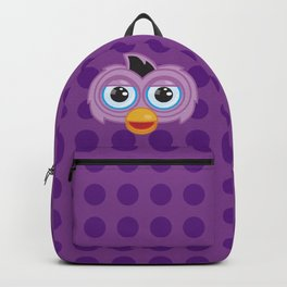 Purple Furby Backpack