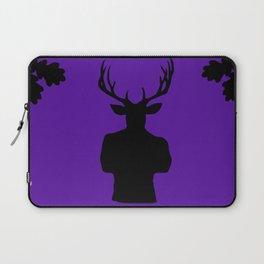 Stag Stud in Purple Laptop Sleeve