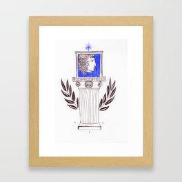 Laurel crown Framed Art Print
