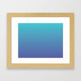 Aqua Dream Framed Art Print